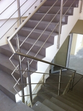 Balustrada Inox Cu 3 Traverse - 10001 Balustrada Inox Cu 3 Traverse