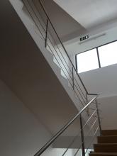 Balustrada Inox Cu 3 Traverse - 10014 Balustrada Inox Cu 3 Traverse