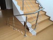Balustrada Inox Cu 3 Traverse - 10016 Balustrada Inox Cu 3 Traverse