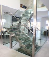 Balustrade Inox Sticla - 10009 Balustrade Inox Sticla
